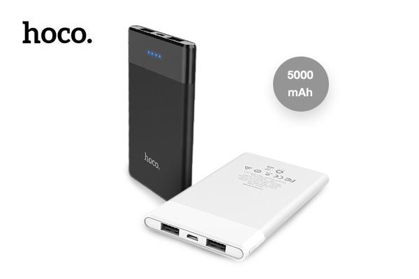 Hoco Mini Power Bank 5000 mAh รุ่น B35D เพียง 299 บาท (ปกติ 590 บาท)