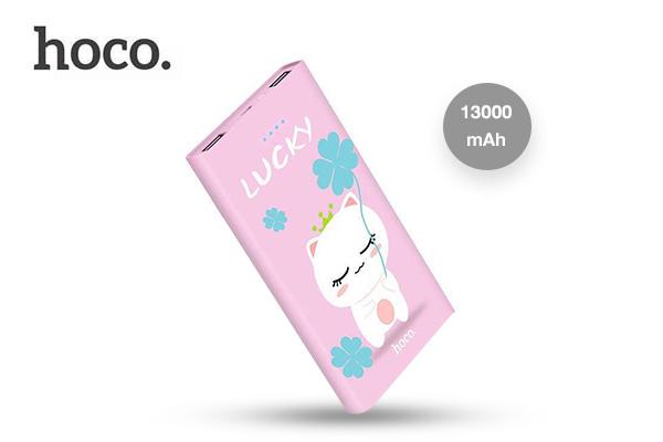 Hoco Power Bank 13000 mAh รุ่น B12E #Lucky เพียง 598 บาท (ปกติ 999 บาท)