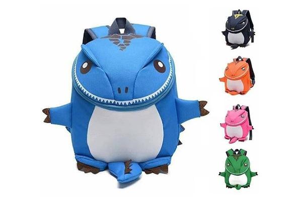 กระเป๋าเป้สะพายหลังสำหรับเด็ก ลายไดโนเสาร์ 3D เพียง 239 บาท จากปกติ 490 บาท