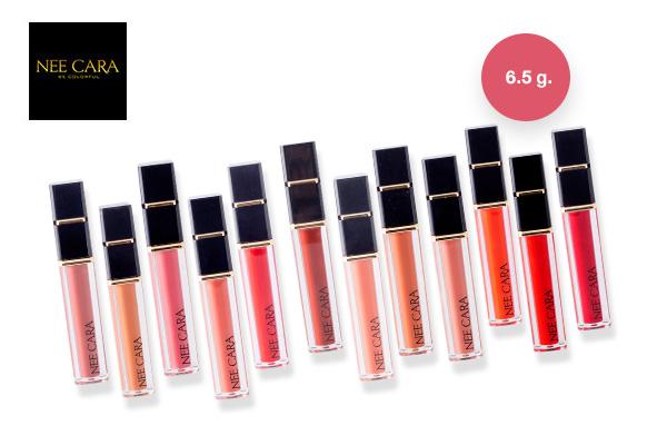 Nee Cara Water Shine Liquid Lipstick #N976 เพียง 129 บาท จากปกติ 175 บาท - ส่งฟรี