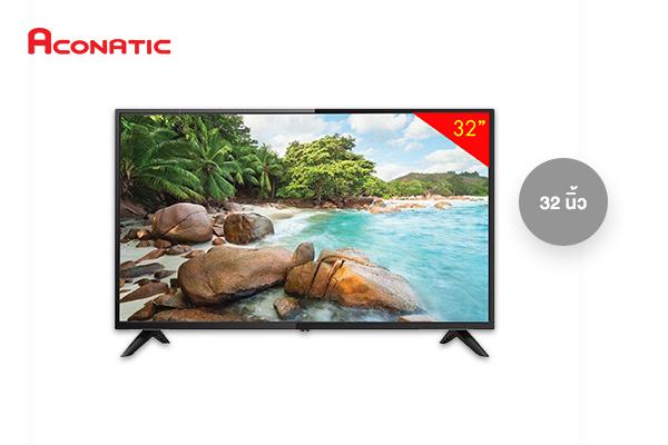Aconatic สมาร์ททีวี 32 นิ้ว รุ่น 32HS525AN เพียง 4,990 บาท จากปกติ 5,990 บาท