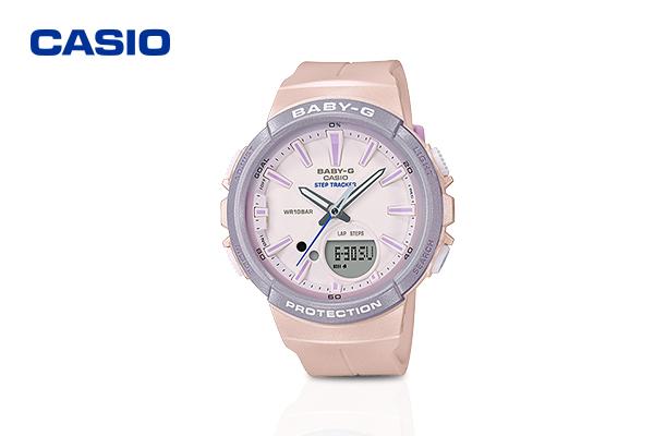 Casio Baby-G Pink Dial รุ่น BGS-100SC-4ADR #Pink เพียง 4,990 บาท จากปกติ 5,200 บาท