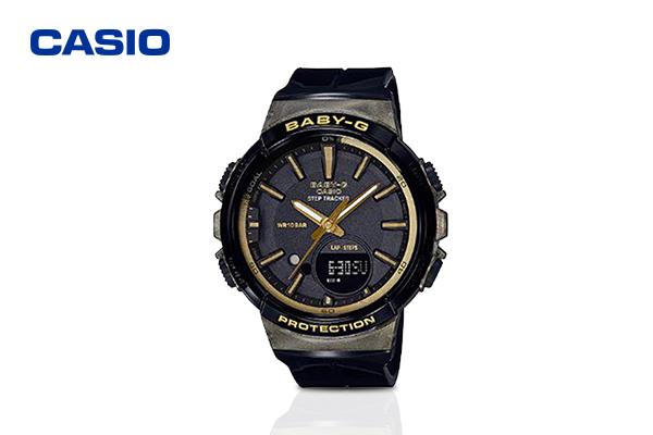 Casio Baby-G Black Dial รุ่น BGS-100GS-1ADR #Black เพียง 4,990 บาท จากปกติ 5,200 บาท