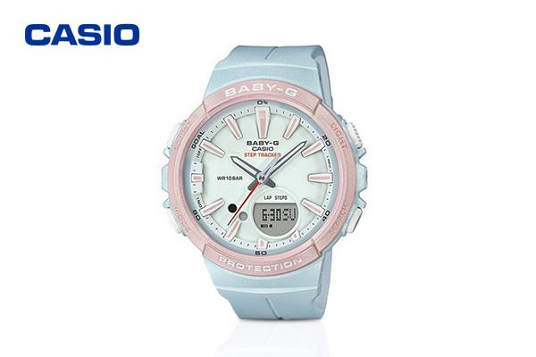 Casio Baby-G Blue Dial รุ่น BGS-100SC-2ADR #Blue เพียง 4,990 บาท จากปกติ 5,200 บาท