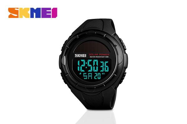 SKMEI นาฬิกาข้อมือ รุ่น SK1405 #Black เพียง 690 บาท จากปกติ 1,190 บาท